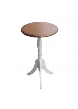 Столик кофейный 40х40х68см, массив березы
