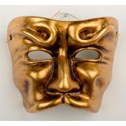 """керамическое панно-маска """"Pulcinella"""" (Пульчинелла)"""