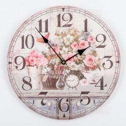 2380 Часы настенные d34см, МДФ