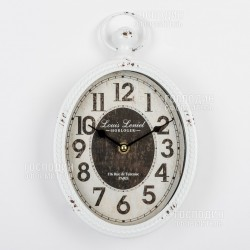 2387 Часы настенные 17х5х28см, металл, стекло