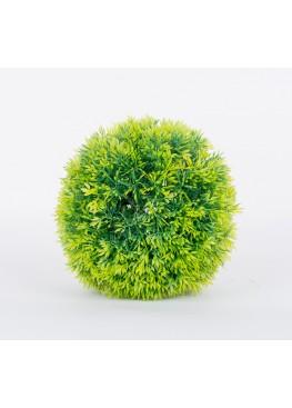 Декоративный шар D15 см (зел.)