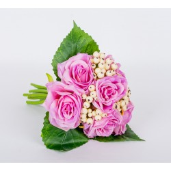 Букет роз, d25см