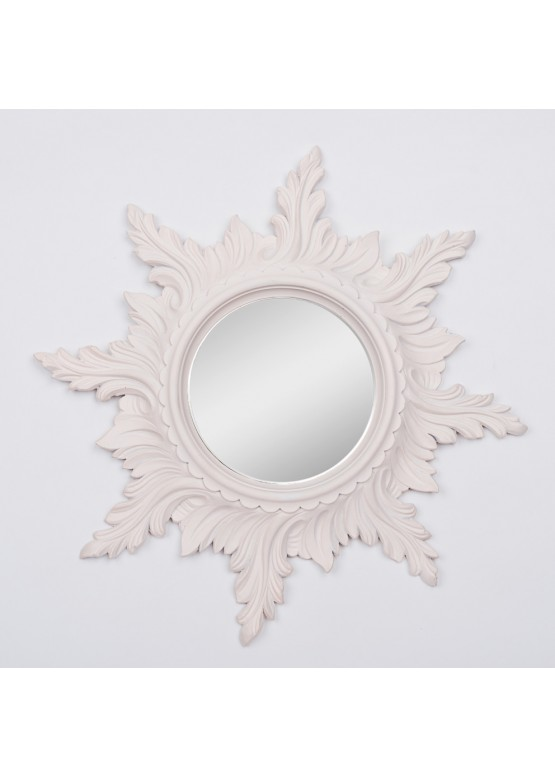 2116 Зеркало настенное «Солнце», d50см, поликерамика