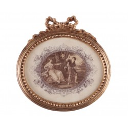 1915/A картина-медальон 33х34см