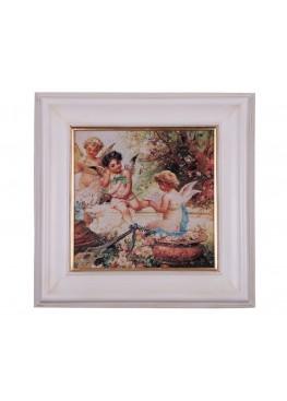 "1726/A Картина ""Сцены с ангелами"""