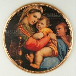 """1531 Картина """"Мадонна в кресле"""""""