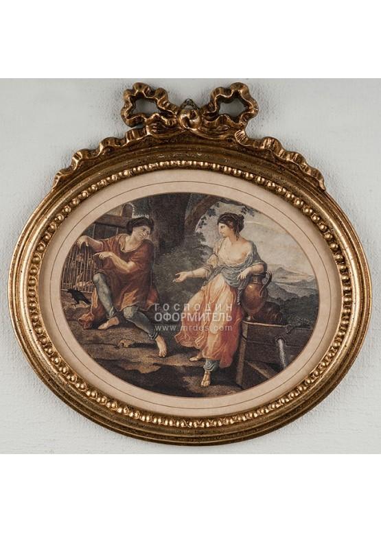 1914/A Картина -Медальон