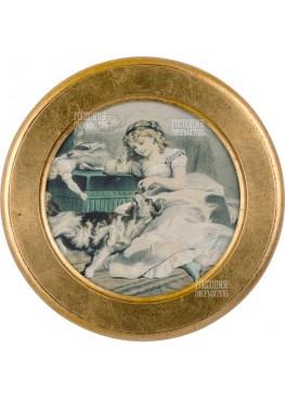 1909/B МИНИАТЮРА, D25СМ