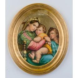 3603 картина-медальон 34х40см