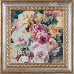 """Картина """"Розы"""" 27х27см"""