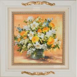 "Картина ""Букет цветов"" 45,5х45,5см"