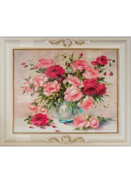 """Картина """"Букет цветов"""" 52х62"""