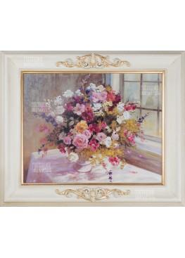 "Картина ""Букет цветов"" 55х65см"