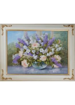 """Картина """"Букет цветов"""" 66х86"""