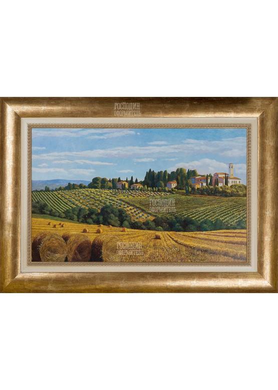 """Картина """"Тосканский пейзаж"""", 72х102см"""