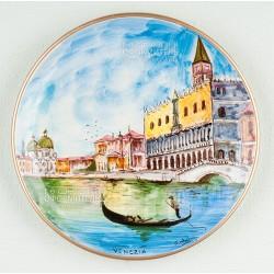 "Тарелка декоративная ""Венеция"", d18см"