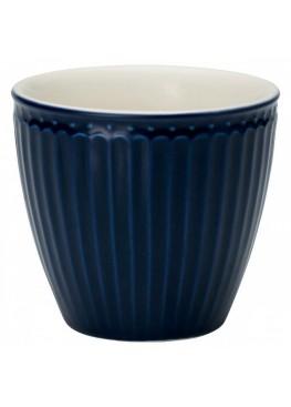 СТАКАН ALICE DARK BLUE, 9,5x9,5x9,3см