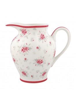 Молочник Flora White