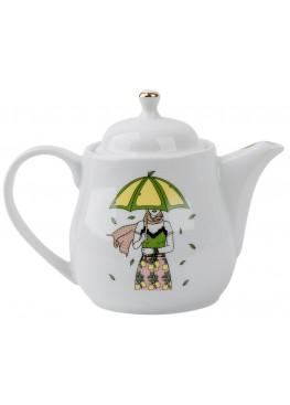 """Чайник """"Девушка и лимоны"""", 500ml"""