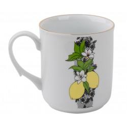 """Кружка """"Лимоны и кружево"""", 200ml"""