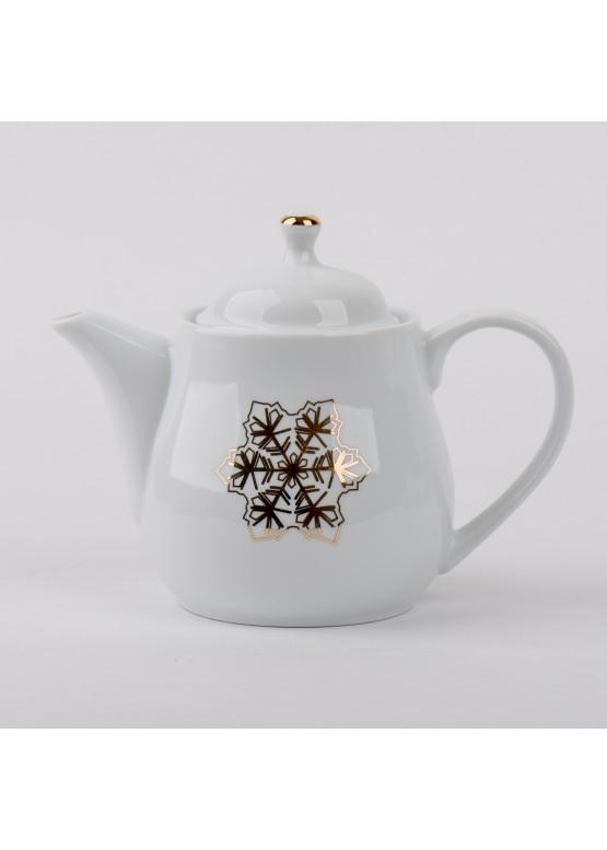 """Чайник """"Романтическое рождество.  Девушка и коньки"""", 500ml"""