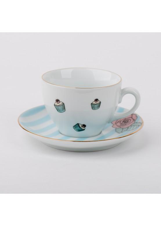 """чайная пара """"Мария Антуанетта. Королевский десерт"""", 180ml"""