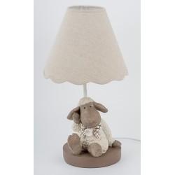 47301 Настольная лампа «Овечка Оскар», 30х30х38см, поликерамика