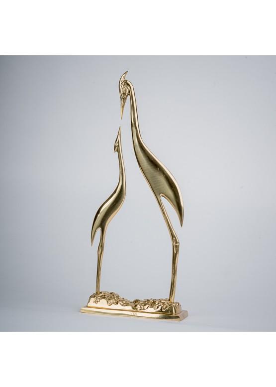 Статуэтка «Птицы», 36х15см, бронза