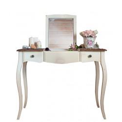 Туалетный столик с зеркалом, 100х49х77см, массив березы