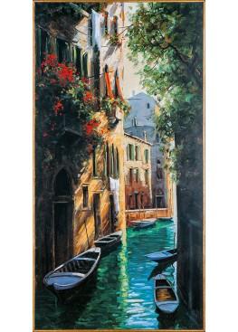 "33548 картина Гьянола ""Рио де Фрари"" 50,5х100,5"