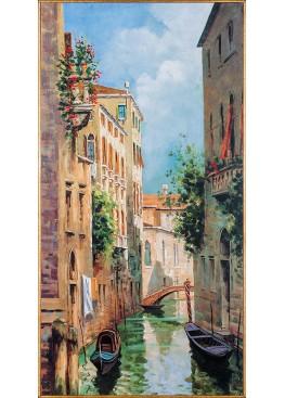 "33549 картина Гьянола ""Венецианские отражения"" 50,5х100,5"