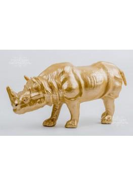 2101 Статуэтка «Носорог», 50х14х25см, поликерамика