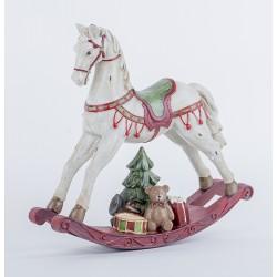 Декоративная лошадка, Н22см, поликерамика